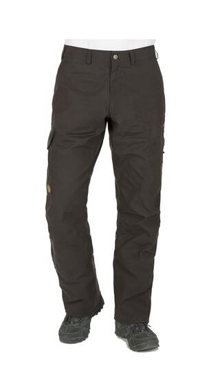 Fjällräven Karl - Pantalones de Trekking Hombre - long negro